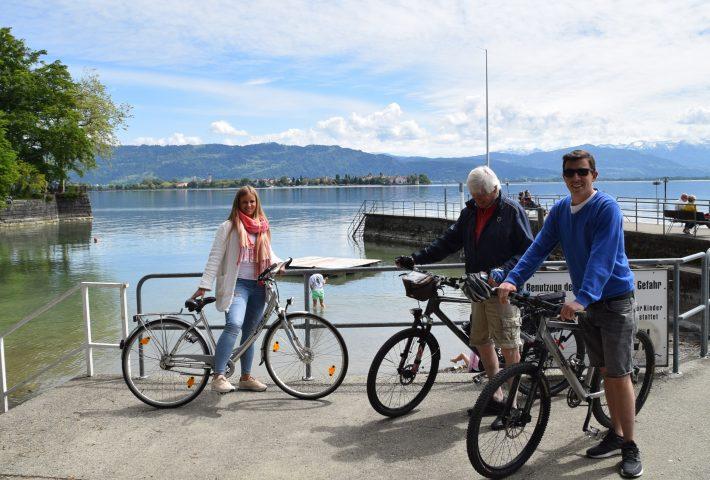 Geführte ½ Tages Radtour Bodenseeradweg inkl. Besichtigung der Bregenzer Festspielbühne & Seilbahnfahrt auf den Pfänder